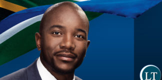 South African opposition leader Mmusi Maimane