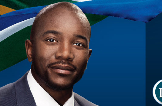 South African opposition leader Mmusi Maimane