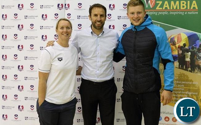 Olympians Adam Peaty, Mel Marshall and Rebecca Adlington, along with England Football national team manager Gareth Southgate
