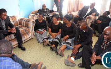 resident Edgar Lungu with Kapwepwe Children