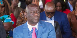 Patriotic Front Secretary General Mr. Davies Mwila