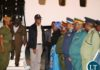 Vice President Inonge Wina welcomes President Edgar Lungu at Kenneth Kaunda International Airport (KKIA) shortly after his arrives form Ndola for a two working visit