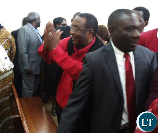 GBM in court attending HH's trial