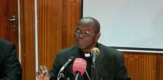Lusaka Catholic Archbishop Telesphore Mpundu