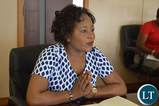 Minister of Information and Broadcasting Services and Chief Government Spokesperson kampamba Mulenga