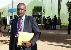 Minister of Water and Sanitation Loyd Kaziya