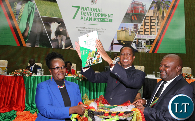 Zambia pf government will fail to implement the 7ndp upnd mp president edgar lungu launches 7th national development plan malvernweather Gallery