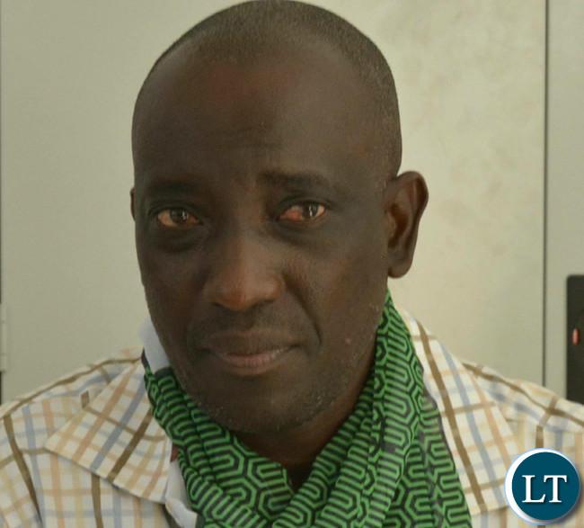 Province Minister Nickson Chilangwa