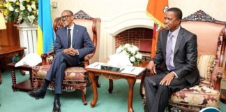 President Edgar Lungu and President Paul Kagame