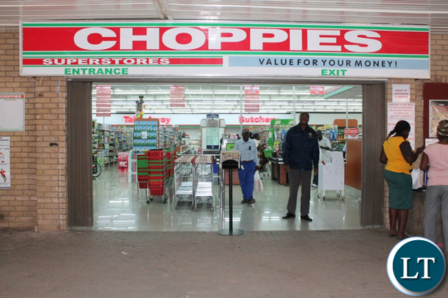 BOTSWANA's leading supermarket, Choppies