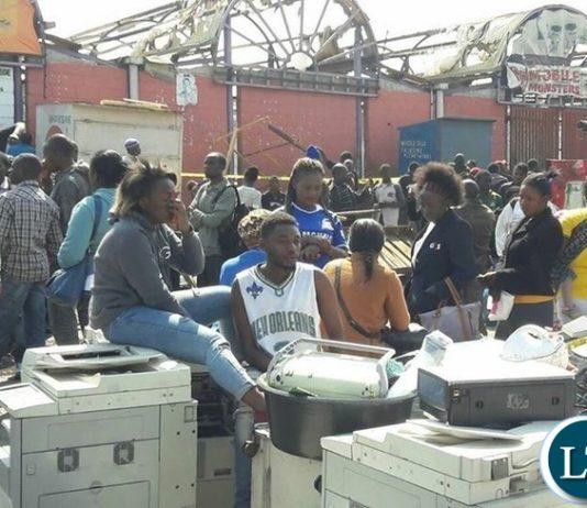 The Scene at Lusaka City Market