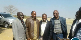 Rainbow Party President Wynter Kabimba with UPND Leaders