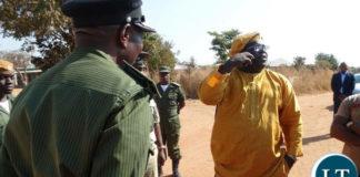 Blocked: Roan PF Member of Parliament Chishimba Kambwili and former Copperbelt Province Minister Mwenya Musenga