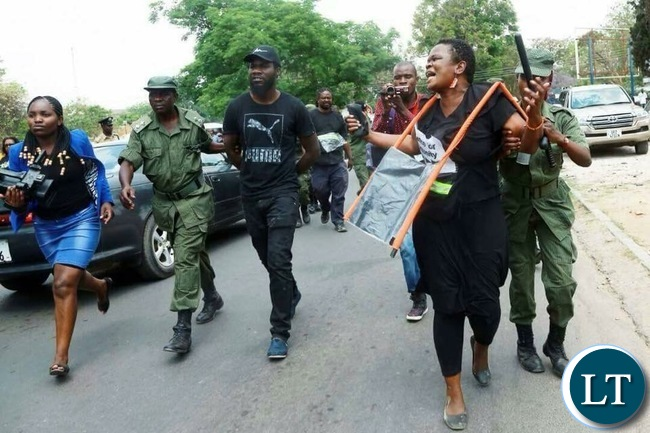 Image result for Activists on trial zambia