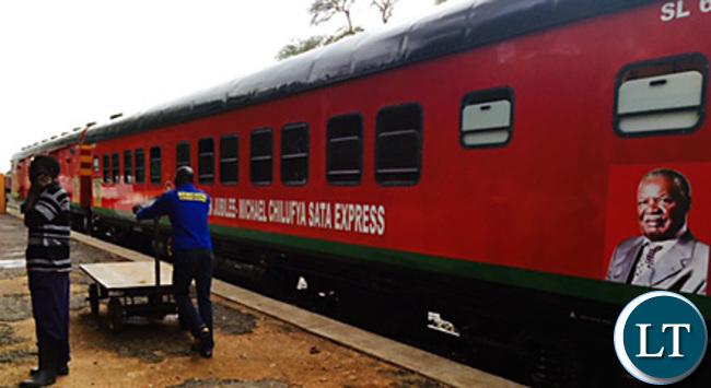 Michael Chilufya Express Train