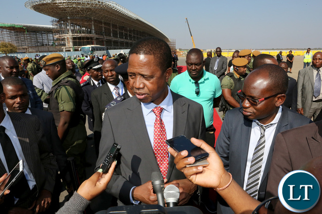 Hichilema: SA can help bring about change in Zambia