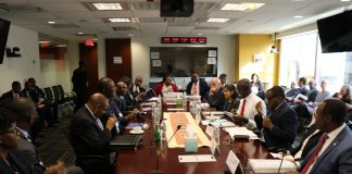 Zambian Delegation led by Finance Minister Felix Mutati at the IMF/World Bank meeting