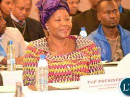 FDD president Edith Nawakwi