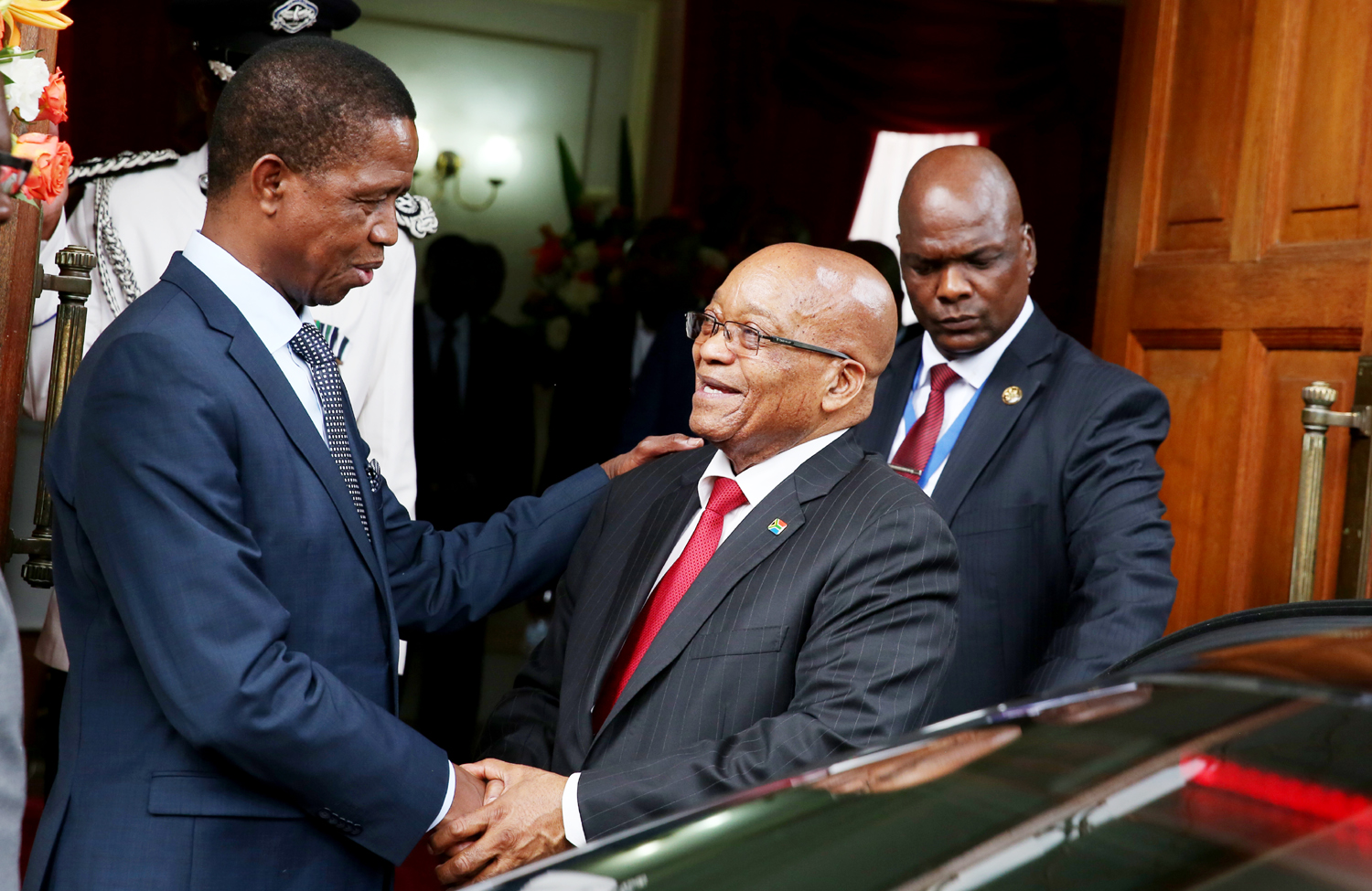 PRESIDENT JACOB ZUMA ARRIVES IN ZAMBIA ON THURSDAY FOR A