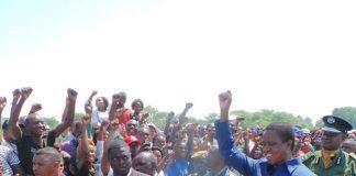 President Lungu arrives in Ndola for a copperbelt tour