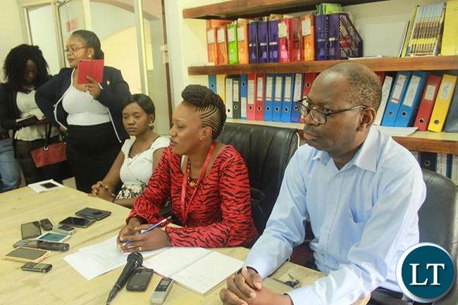 ActionAid Zambia Media Briefing