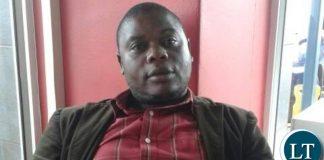 NUPPEZ national secretary Nelson Mwale