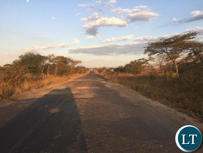 The deplorable Kafue-Chikankata-Mazabuka road