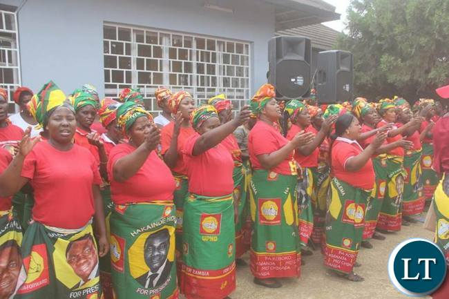 UPND Women event organised for HH