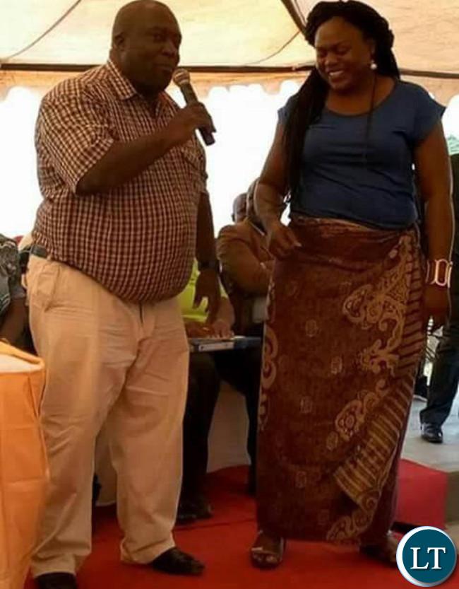 Former UPND aspiring candidate for Kafue, Ms Saboi Imboela