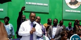 Former Matero MP Miles Sampa