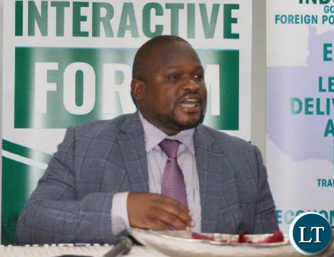 Nkana Constituency Law Maker Honorable Alexander Chiteme