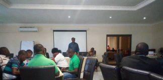 PF Whats App workshop underway