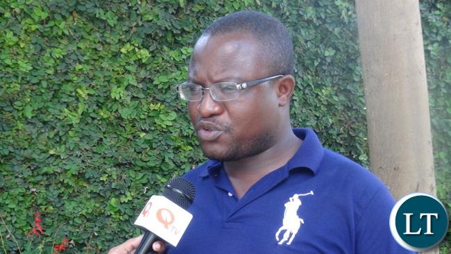 YALI Advisor Isaac Mwanza