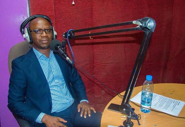 Zamtel Corporate Communications Manager Kennedy Mambwe featuring on Consumer Feedback radio programme on Hot FM
