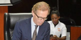 Swedish Ambassodor to Zambia, His Excellency Mr Henrik Cederin