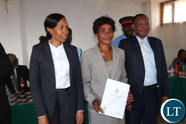 A Representative of the Cooperative receives Cooperative Certificate