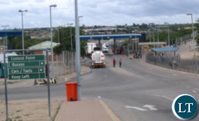 Beitbridge border crossing