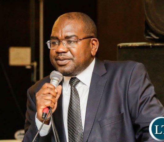 Minister of Health, Hon Dr Chitalu Chilufya