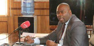 Lusaka Minister Bowman Lusambo