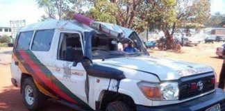 Ambulance Belonging to the Ministry of Health