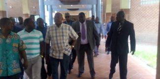 Kambwili at the Court today