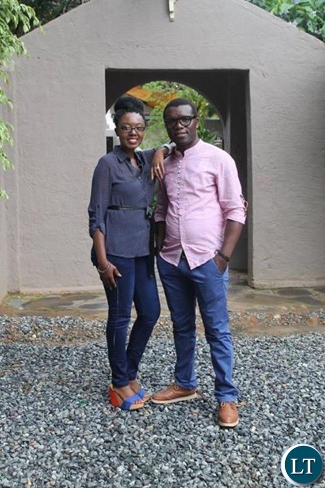 Njoya Tee with wife Brenda