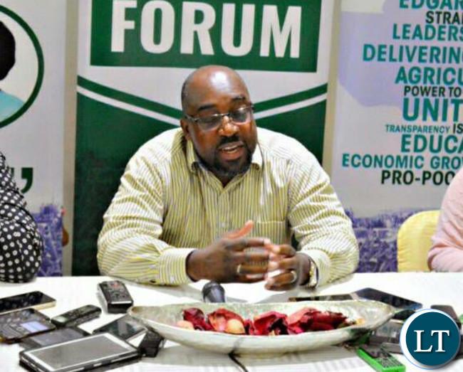 Transport and Communication Minister Brain Mushimba