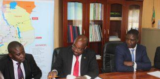 Transport and Communications Minister Brian Mushimba