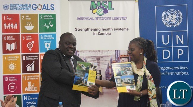 Zambia medical stores and undp sign a 49 million cost sharing msl managing director mr chikuta mbewe and undp country director ms mandisa publicscrutiny Image collections