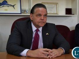 United States Ambassador To Zambia Daniel Foote