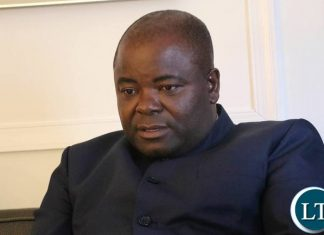 Minister of Infrastructure and Housing Ronald Chitotela