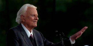 The Rev. Billy Graham,