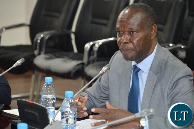 Director General, Richard Mwanza