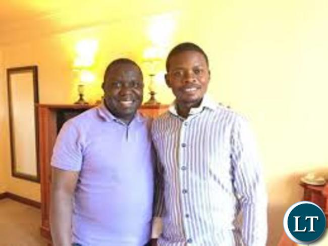 Harry Kalaba and Prophet Bushiri